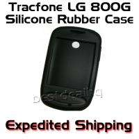 TRACFONE LG 800G SILICONE RUBBER CASE SLEEVE SKIN COVER