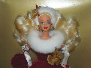 Peppermint Princess 1995 Barbie Doll Limited Edition Winter Princess
