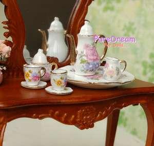 Miniature Tea Set For Barbie Fashion Royalty Philip Doll China