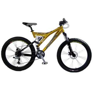 26 Mens Mongoose XR Comp Dual Suspension Bike Bikes & Riding Toys