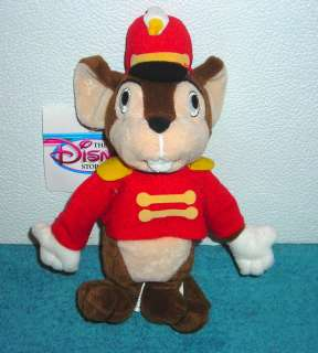 EXCLUSIVE DUMBO TIMOTHY 8 PLUSH BEAN BAG TOY NEW
