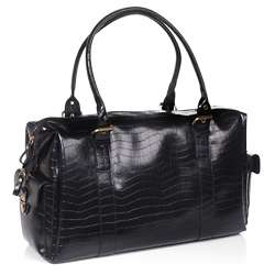 Bueno Black Weekender Shoulder Bag  Overstock
