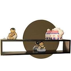 Decorative Shelf and Adhesive Mirror