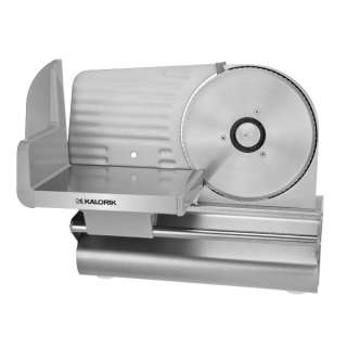 Kalorik Silver 200 Watt Electric Meat Slicer, AS 27222