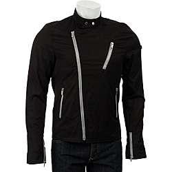 Ben Sherman Mens Crossfire Biker Jacket