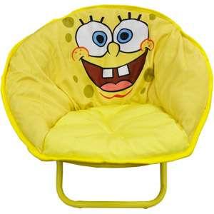 Nickelodeon   SpongeBob SquarePants Mini Saucer Chair