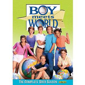 Season 6, Boy Meets World DVD Set, Family TV Series, Comedy TV Series