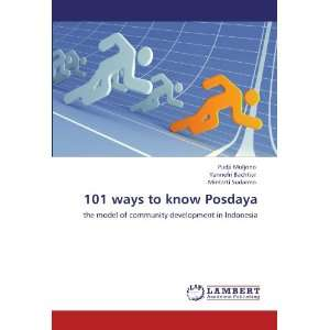ways to know Posdaya the model of community development in Indonesia