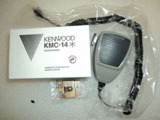 KENWOOD KMC 14 Mobil Mic microphone WITH CORD ECT 0019048155047