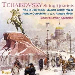 Tchaikovsky String Quartet No 3 Etc P.I. Tchaikovsky