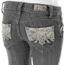 Hot and the Gang Embellished Pocket Jeans  Overstock