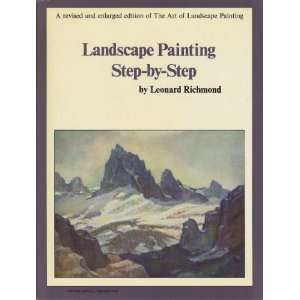 Landscape Painting Step By Step:  Books