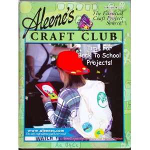 Aleenes Craft Club Magazine (Sept 2000): Sharon