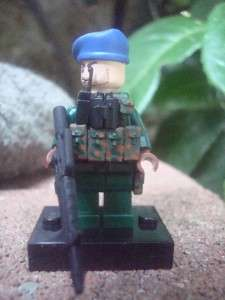 CUSTOM LEGO MINIFIG PARATROOPER BLACK OPS RARE