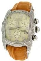Invicta Swiss Chronograph 4.4ct. Diamond Pave Lupah Mens Watch.