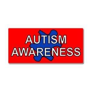 Autism Awareness Puzzle Piece   Window Bumper Sticker