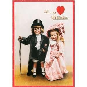 Unique High Quality Dressing up Formal Vintage Valentines