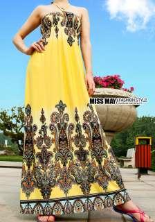 New Lady Strapless women Long Bohemia Maxi Dress 2