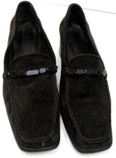 Stuart Weitzman Womens Choc Brown Suede High Heels Pumps Shoes Sz Size