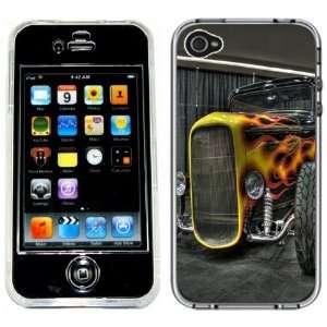 Hot Rod Classic Car Handmade iPhone 4 4S Full Hard Plastic
