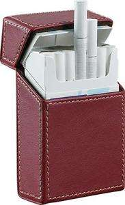 Visol Rogue Red Leather Cigarette Case NEW
