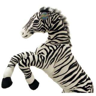 NEW Soft Stuffed Plush Toy Animal Doll LARGE 4 ft ZEBRA