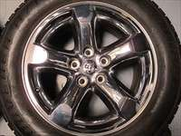 four 06 08 Dodge Ram 1500 Factory Chrome Clad 20 Wheels Tires Durango