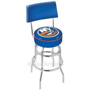30 New York Islanders Bar Stool   Swivel With Double Ring
