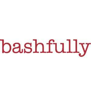 bashfully Giant Word Wall Sticker:  Home & Kitchen