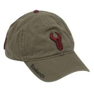 Badlands Logo Hat (Olive): Sports & Outdoors