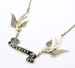 Fashion Necklaces Lucky Carrier Pigeon Pendants Cute