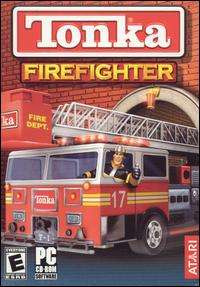 Tonka Firefighter PC CD kids drive help rescue emergency fire truck
