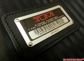 TUMI 2244D3 SUITCASE LUGGAGE BAG AIR TRAVEL BLACK ROLLING CASE 25