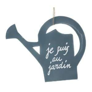 America Retold Watering Can Zinc Sign