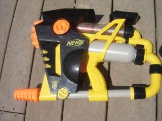 Nerf n strike vulcan ebf 25 dart blaster machine gun for Nerf motorized rapid fire blasting