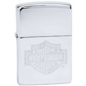 Harley Davidson Bar Shield High Zippo Lighter Patio, Lawn