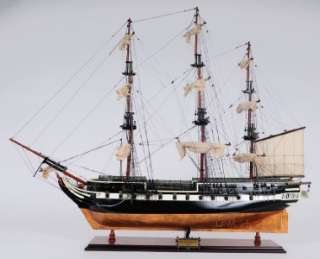 HMS Trincomalee British Frigate Wooden Ship Model 37 Royal Navy
