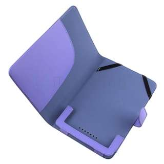 Blue Premium PU Leather Carrying Folio Book Case Cover Pouch For B&N