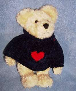 Boyd Bear plush 8 SAMUEL ADAMS heart sweater patriotic