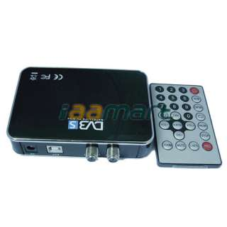 New Digital Satellite DVB S USB TV Receiver Card Tuner Box for Laptop