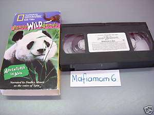 National Geographic Really Wild Animals VHS Asia 727994516477