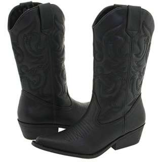 MADDEN GIRL Western Style Mid Calf Boots in Black and Brown