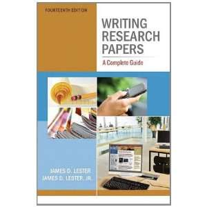 Writing Research Papers (9780321853134): Lester: Books