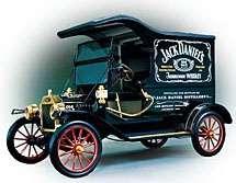 Jack Daniels Delivery Truck Franklin Mint