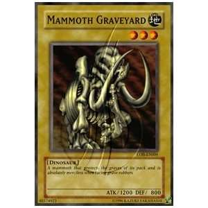 2002 Legend of Blue Eyes White Dragon Unlimited LOB 9 Mammoth