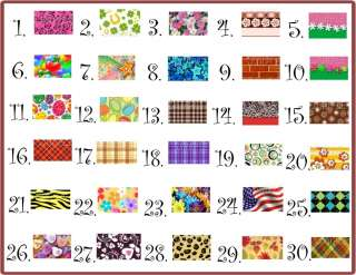 FRENCH TIP NAIL ART DECALS #3 •PICK YOUR DESIGN•