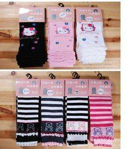 Toddler Hello kitty girls footless dress Leggings Tights socks pants