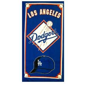 MLB Los Angeles Dodgers towel   Beach / Bath Towel  Home
