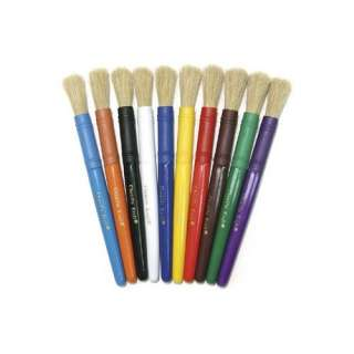 Chenille Kraft Company Colossal Brushes Set Of 5 Assorted Crafts
