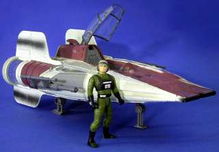STAR WARS REBEL ALLIANCE A WING STARFIGHTER WITH EXCLUSIVE PILOT 69590